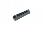 Linic Black Small Hard Rigid Plastic File Handles, 80mm Length.